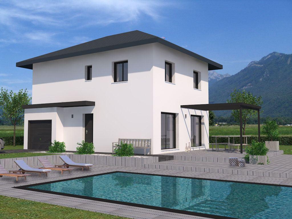 Maisons + Terrains du constructeur DEMEURES CALADOISES • 104 m² • TANINGES
