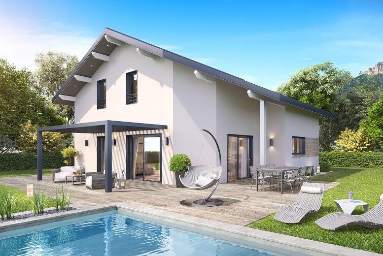 Maisons + Terrains du constructeur DEMEURES CALADOISES • 129 m² • BOEGE
