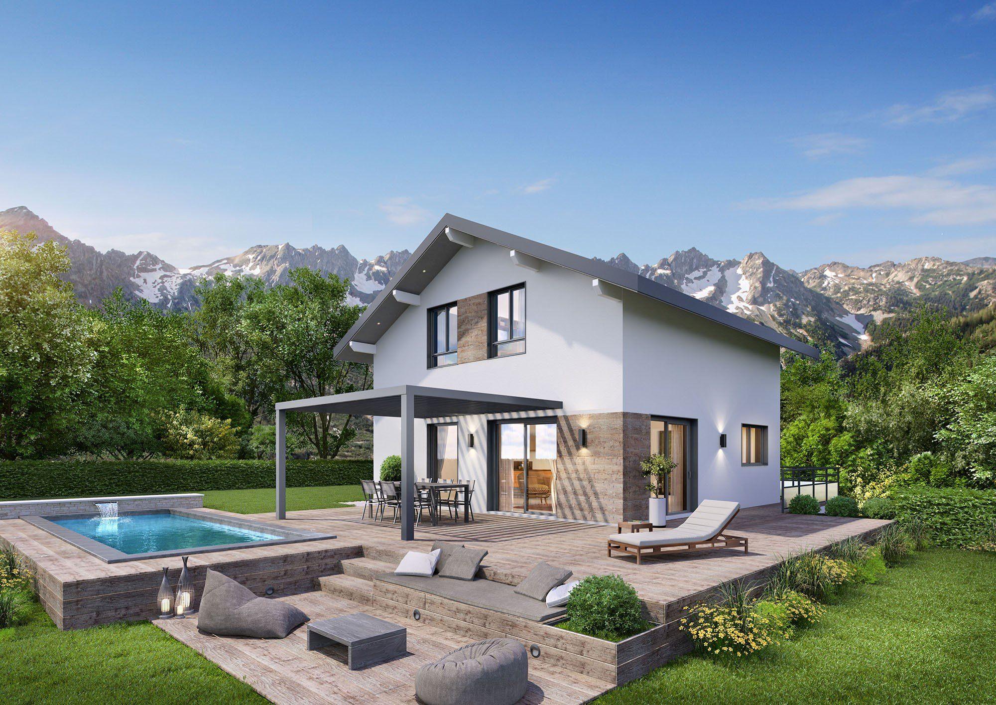 Maisons + Terrains du constructeur DEMEURES CALADOISES • 106 m² • SAINT SIXT