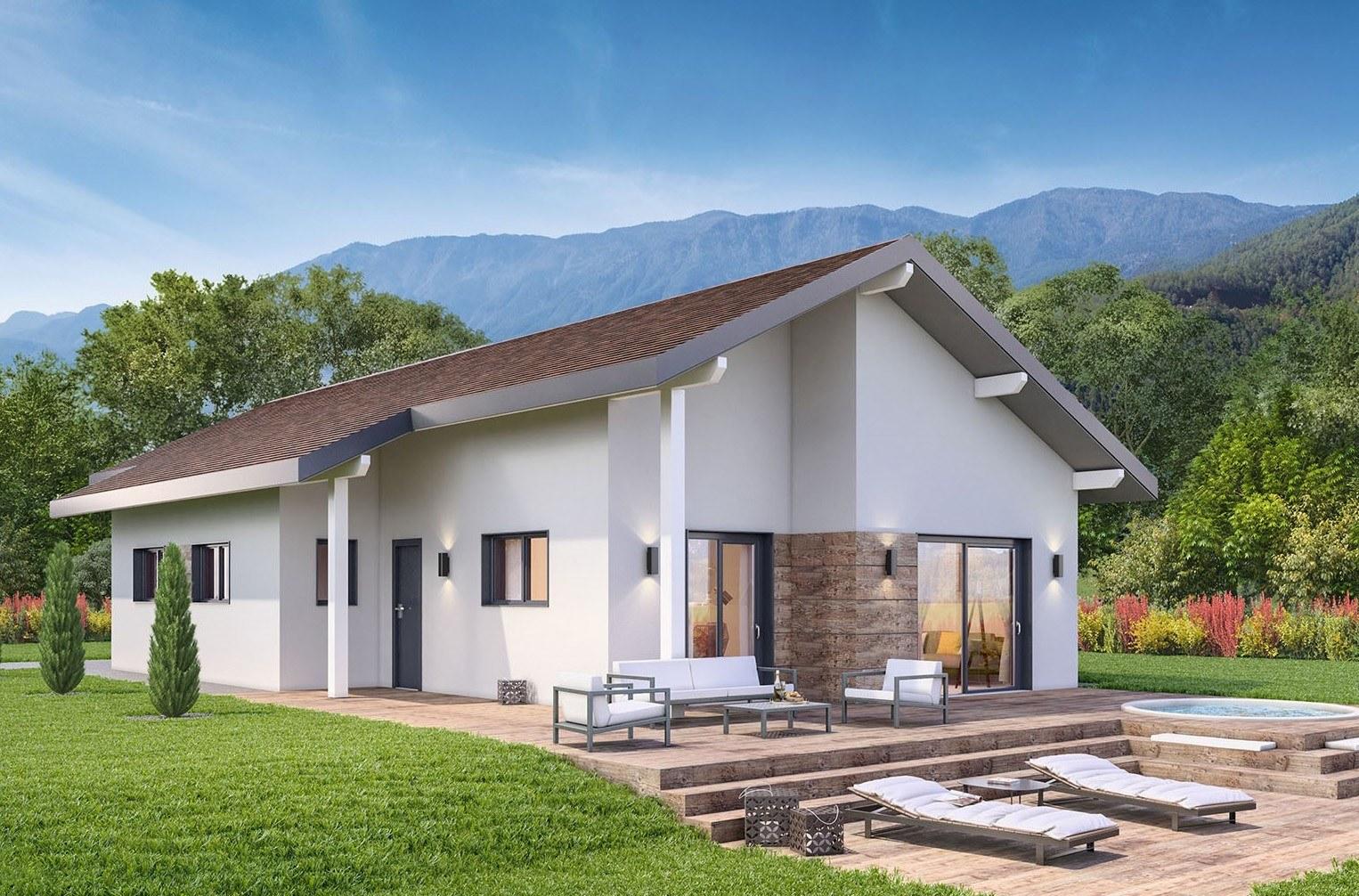 Maisons + Terrains du constructeur DEMEURES CALADOISES AGENCE D ANNECY • 100 m² • THYEZ
