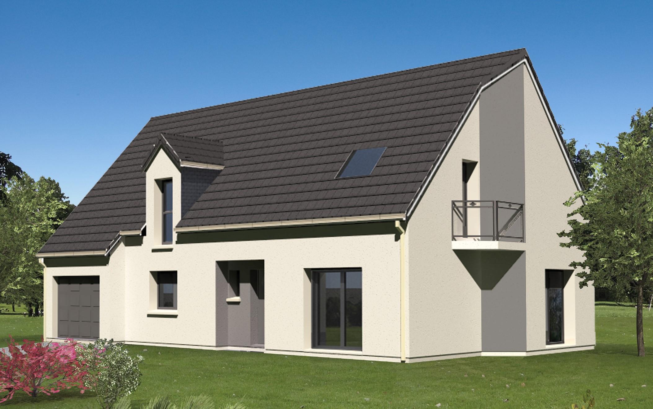 Maisons + Terrains du constructeur LETELLIER • 131 m² • SEPTEUIL
