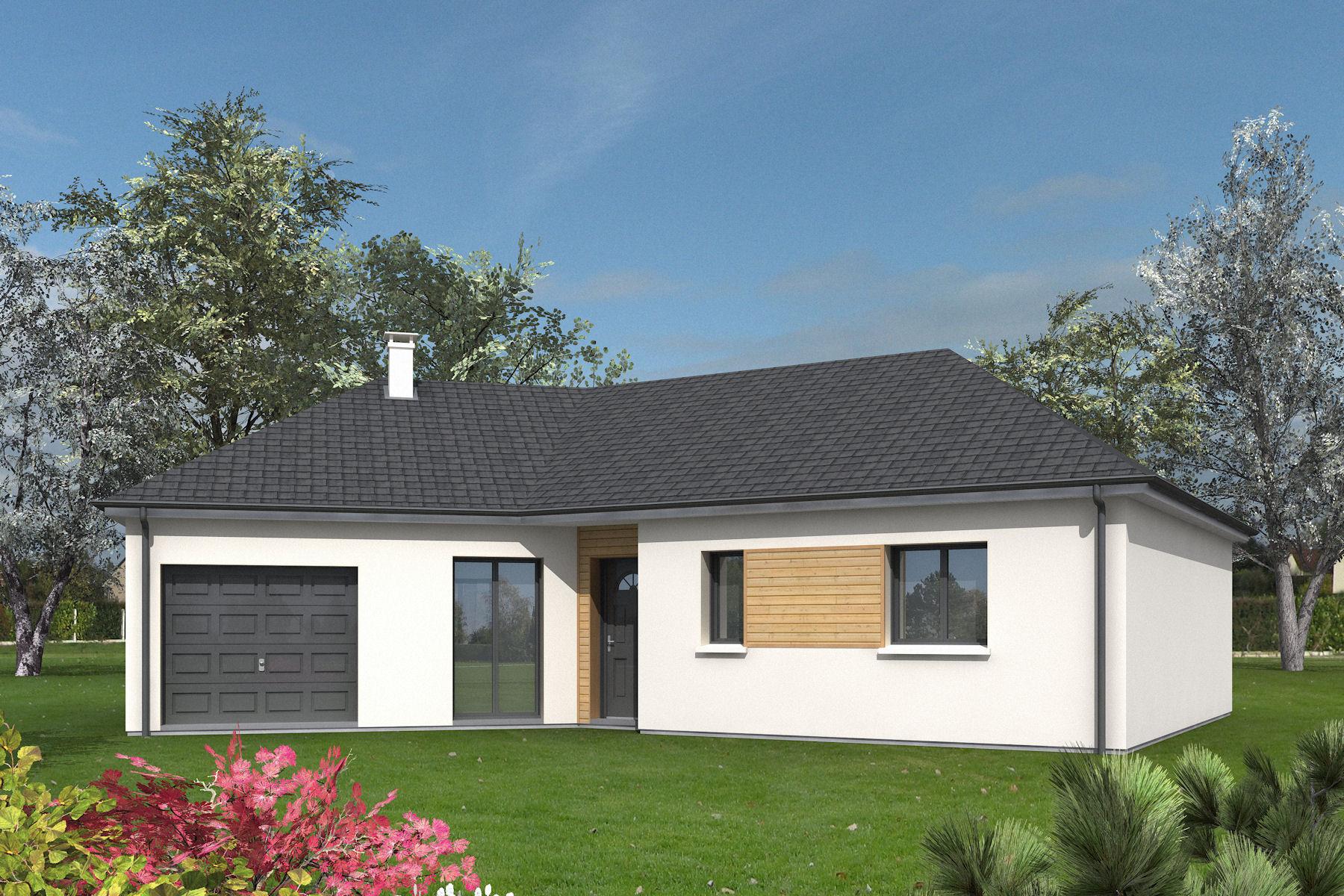 Maisons + Terrains du constructeur LETELLIER • 106 m² • L'AIGLE
