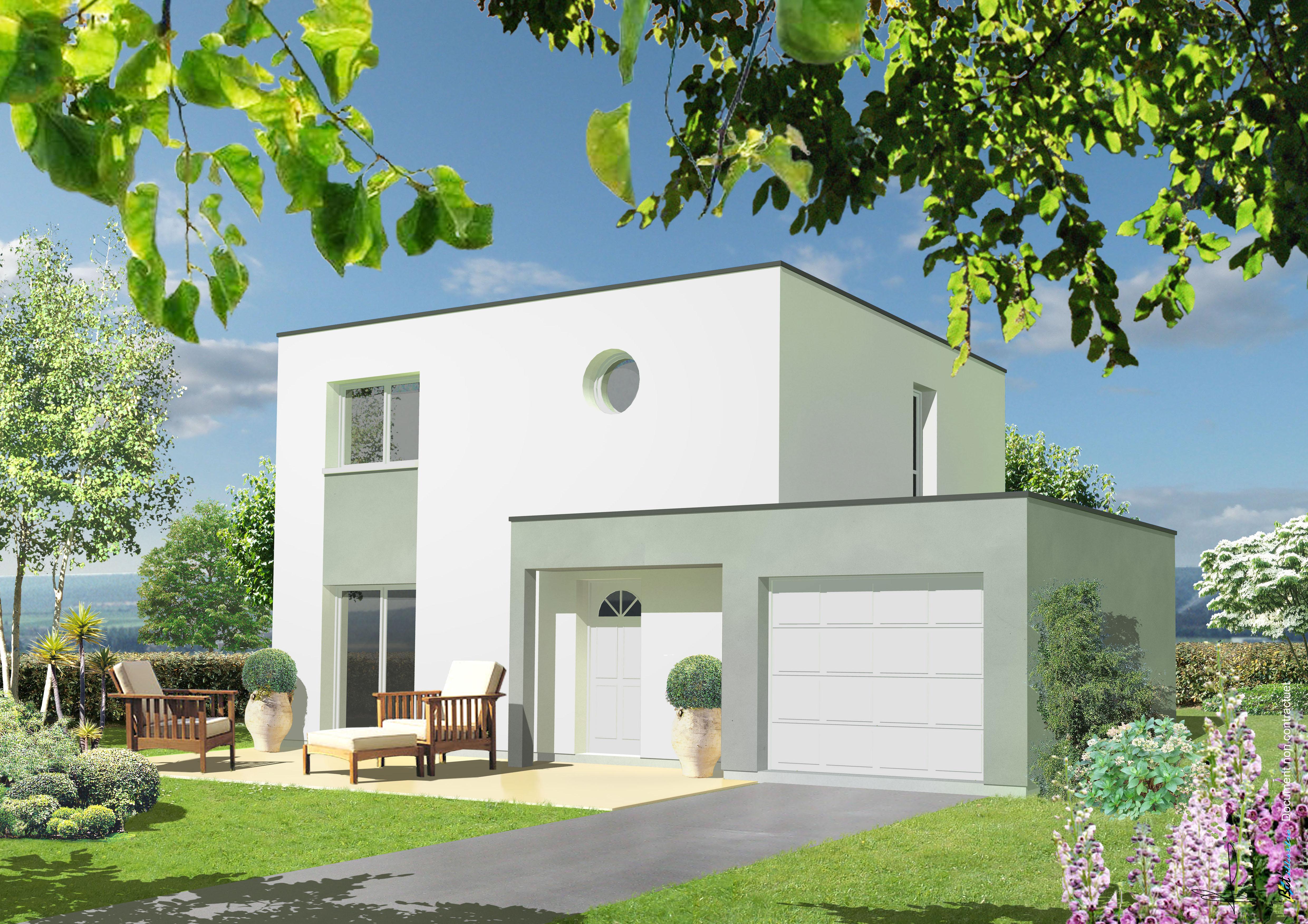 Maisons + Terrains du constructeur LETELLIER • 96 m² • VERNON