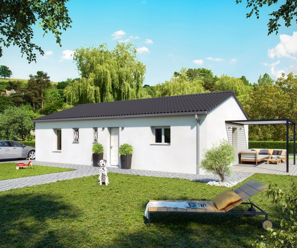 Maisons + Terrains du constructeur ALPHA CONSTRUCTIONS - PERIGUEUX • 80 m² • COULOUNIEIX CHAMIERS