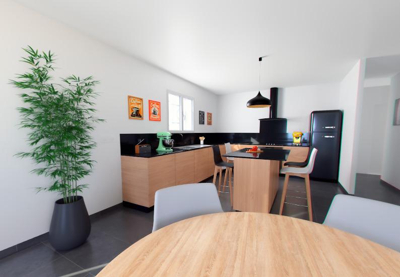 Maisons + Terrains du constructeur ALPHA CONSTRUCTIONS - PERIGUEUX • 82 m² • SAINT LAURENT DES VIGNES