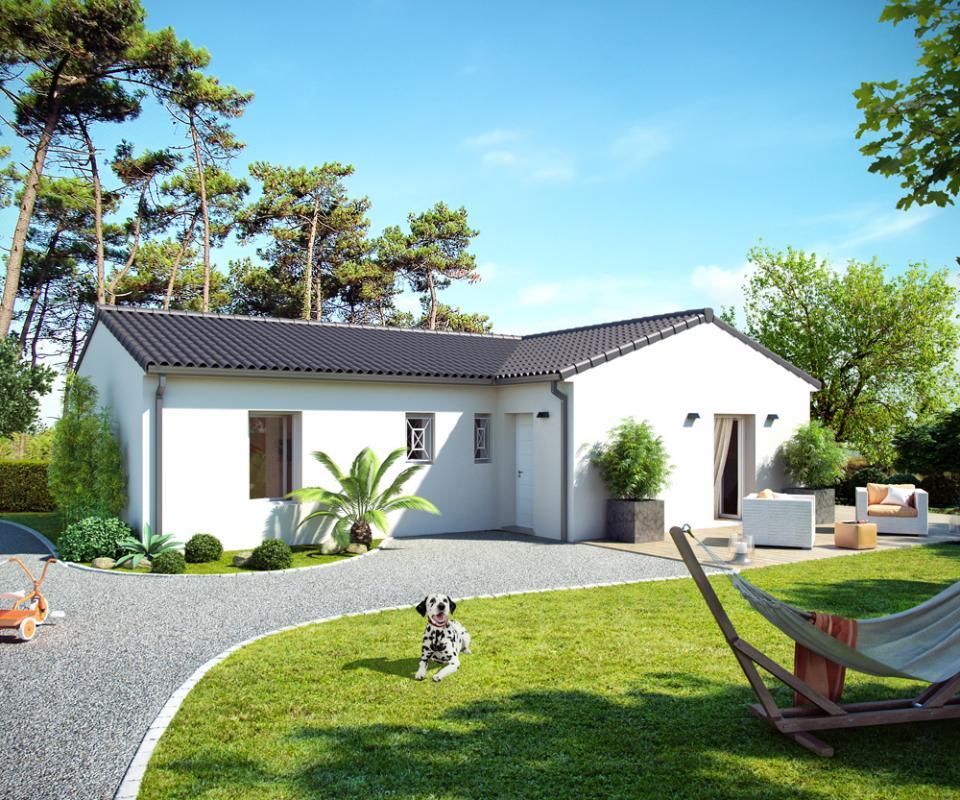 Maisons + Terrains du constructeur ALPHA CONSTRUCTIONS - PERIGUEUX • 90 m² • LE FLEIX