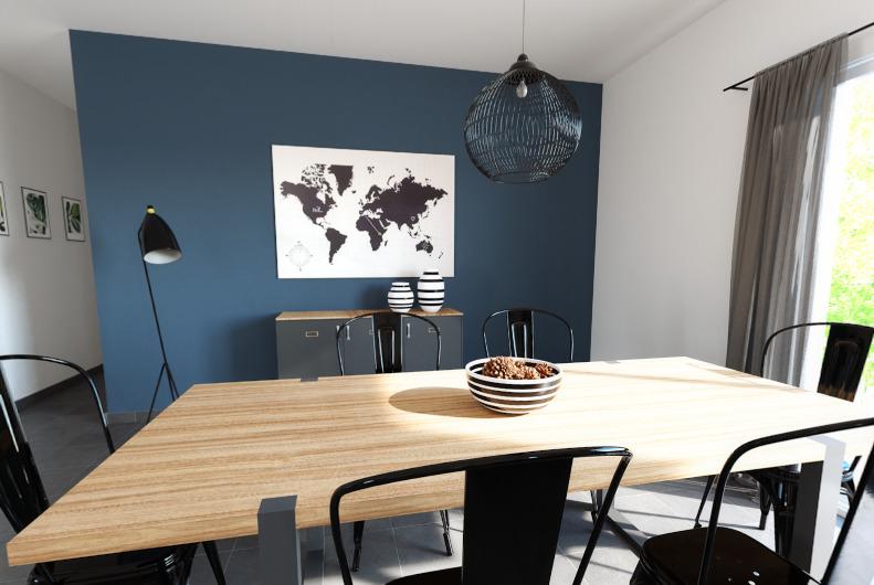 Maisons + Terrains du constructeur ALPHA CONSTRUCTIONS - LESPARRE • 90 m² • GAILLAN EN MEDOC