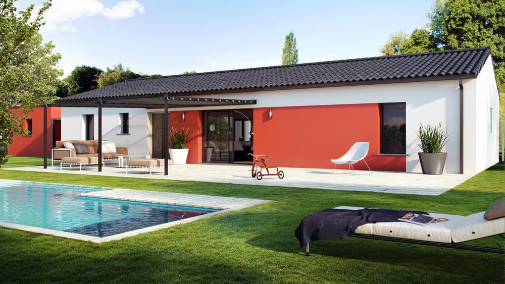 Maisons + Terrains du constructeur ALPHA CONSTRUCTIONS - LESPARRE • 90 m² • VERTHEUIL