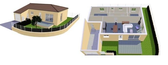 Maisons du constructeur BTL • 80 m² • MARAUSSAN