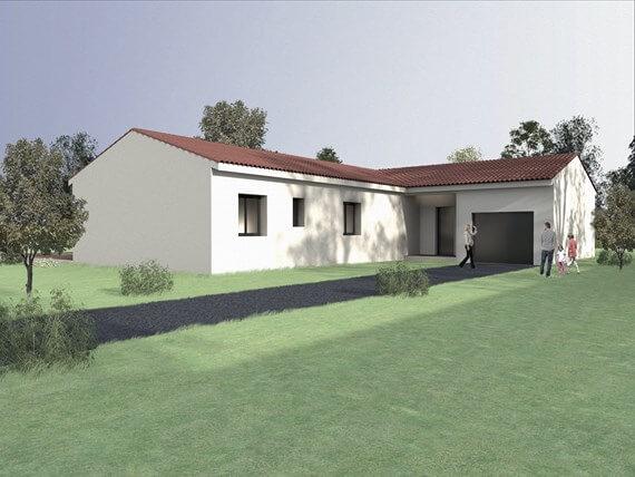 Maisons du constructeur BTL • 80 m² • SAINT THIBERY