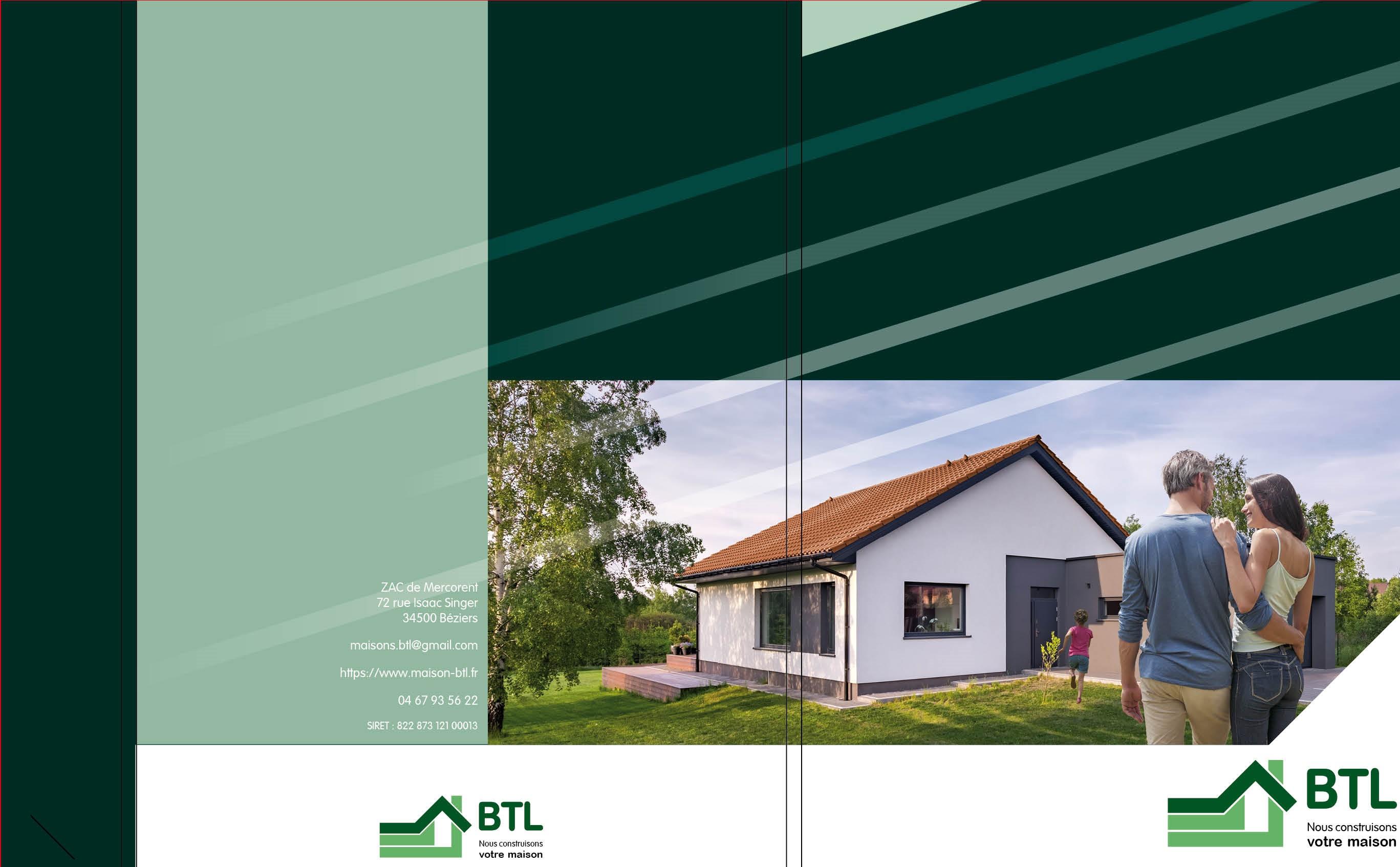 Maisons du constructeur BTL • 80 m² • CAPESTANG