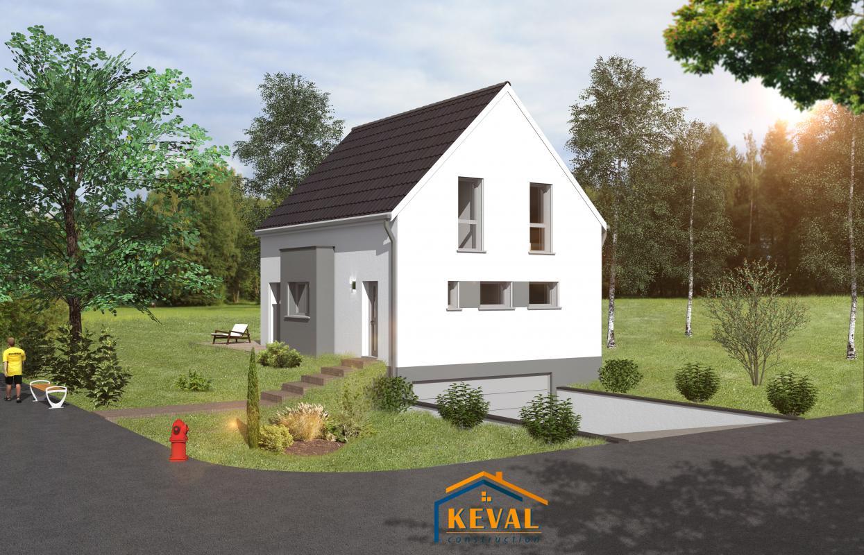 Maisons + Terrains du constructeur KEVAL CONSTRUCTION • 110 m² • ZINSWILLER