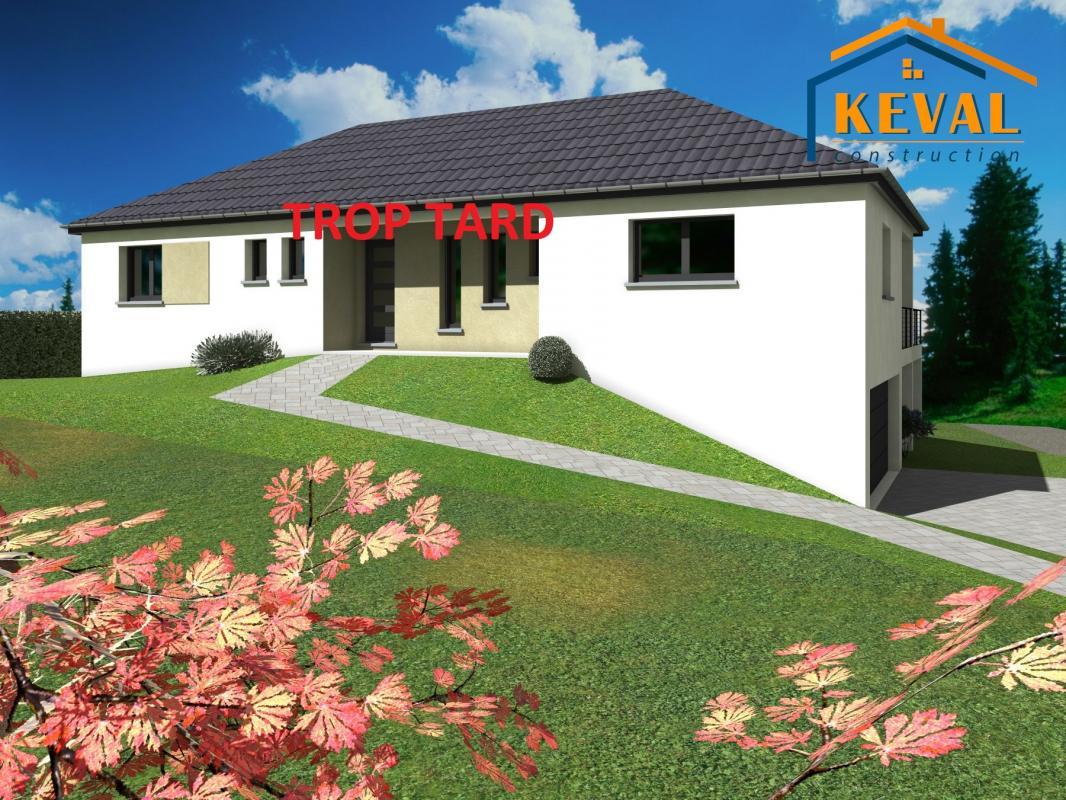 Maisons + Terrains du constructeur KEVAL CONSTRUCTION • 80 m² • DIEMERINGEN