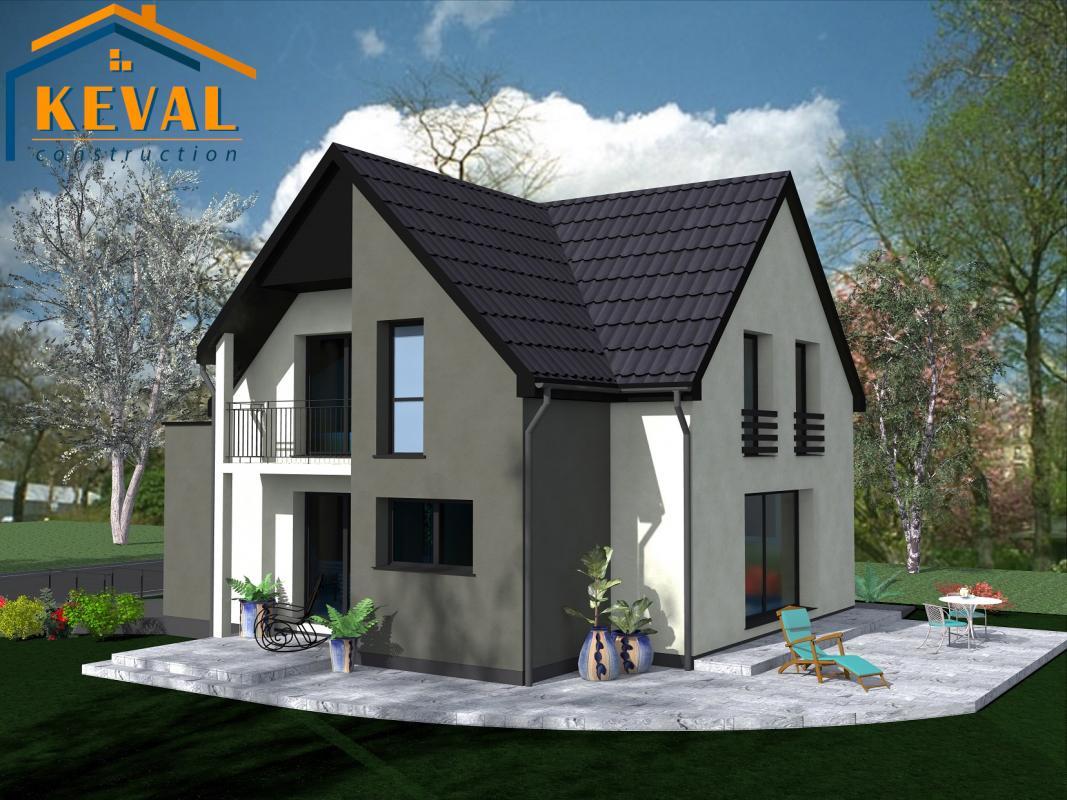 Maisons + Terrains du constructeur KEVAL CONSTRUCTION • 118 m² • WILLGOTTHEIM