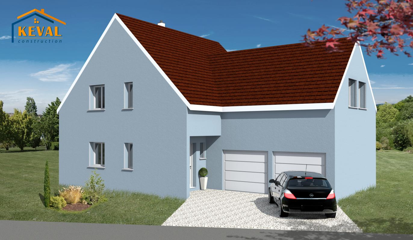 Maisons + Terrains du constructeur KEVAL CONSTRUCTION • 90 m² • ROTHAU