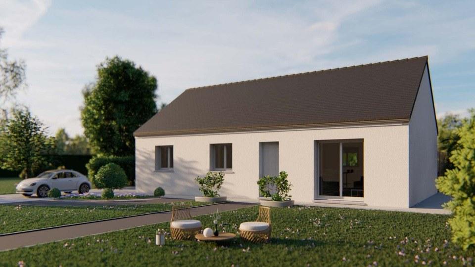 Maisons + Terrains du constructeur EXTRACO CREATION • 80 m² • SAINT ROMAIN DE COLBOSC