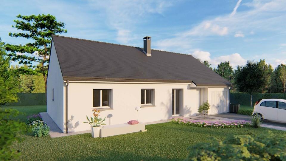 Maisons + Terrains du constructeur EXTRACO CREATION • 92 m² • GOMMERVILLE