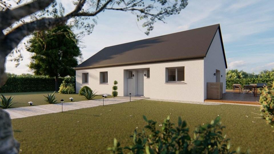 Maisons + Terrains du constructeur EXTRACO CREATION • 105 m² • SAINT ROMAIN DE COLBOSC