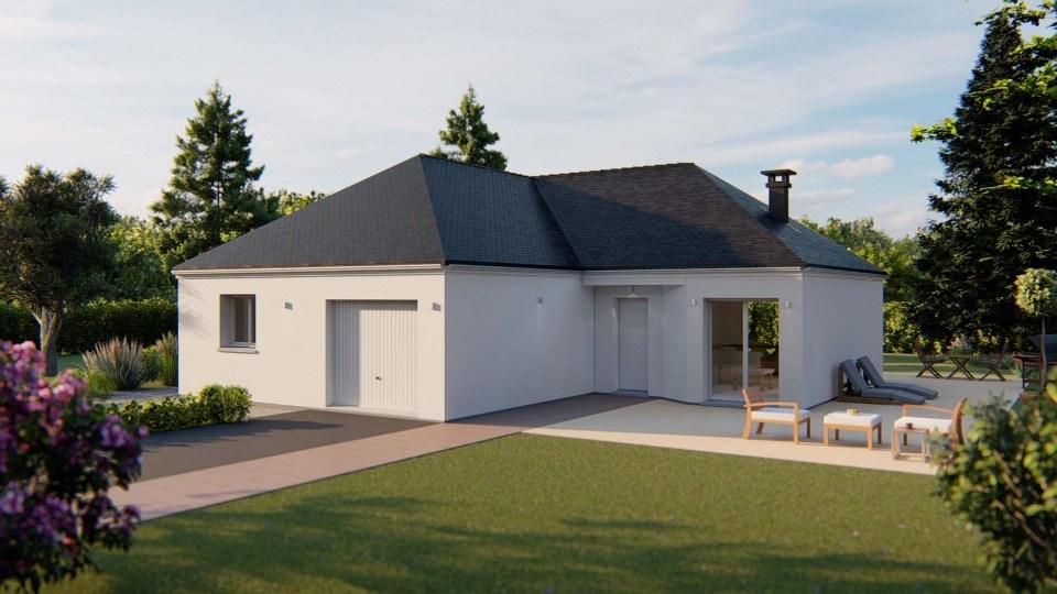 Maisons + Terrains du constructeur EXTRACO CREATION • 98 m² • GOMMERVILLE