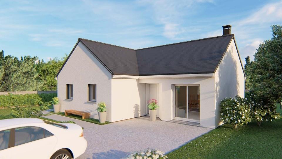 Maisons + Terrains du constructeur EXTRACO CREATION • 84 m² • SAINT ROMAIN DE COLBOSC