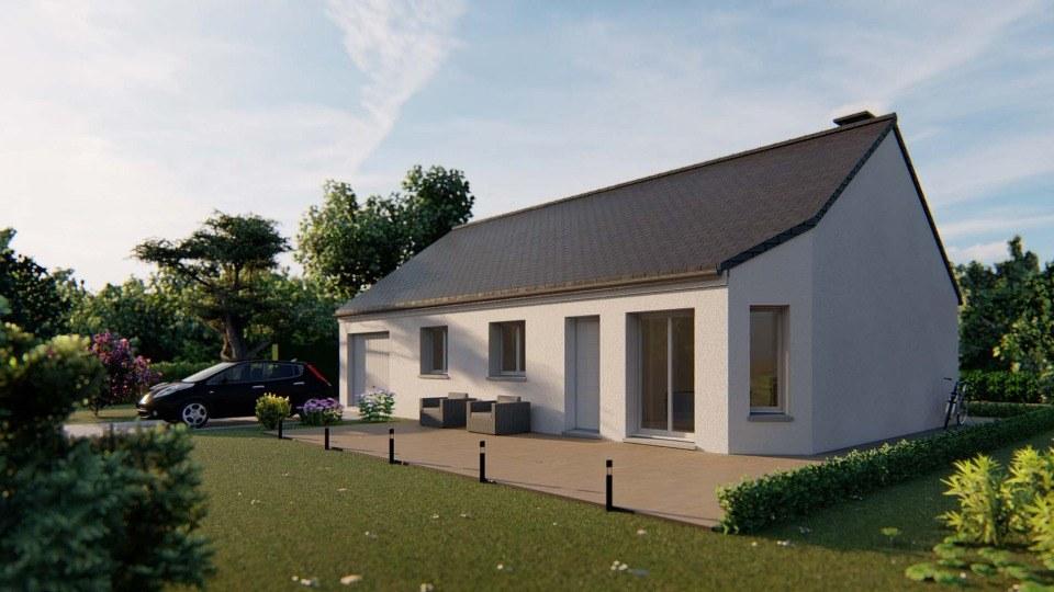 Maisons + Terrains du constructeur EXTRACO CREATION • 82 m² • ETAINHUS