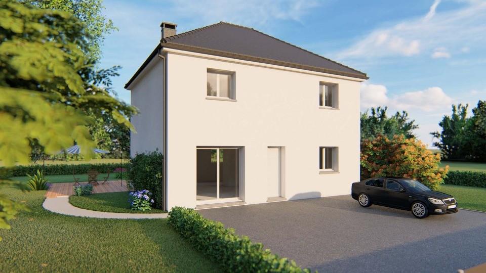 Maisons + Terrains du constructeur EXTRACO CREATION • 114 m² • HONGUEMARE GUENOUVILLE