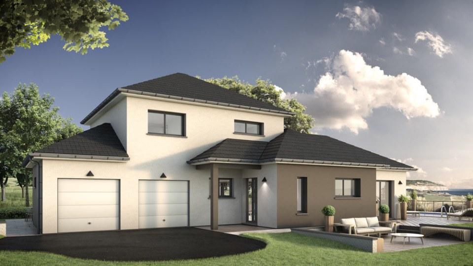 Maisons + Terrains du constructeur EXTRACO CREATION • 149 m² • GRAND COURONNE