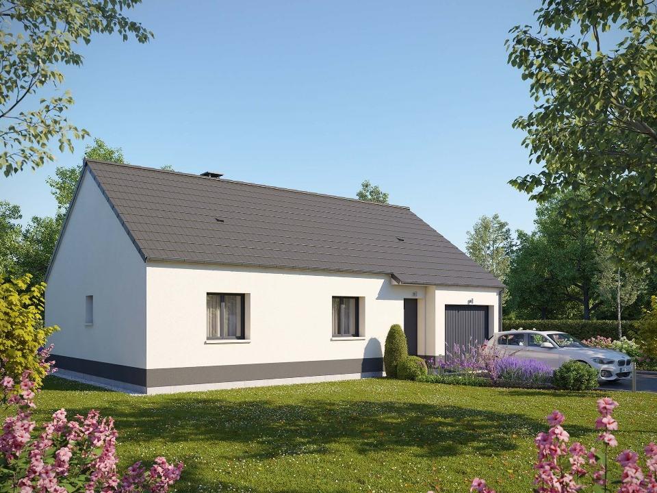 Maisons + Terrains du constructeur EXTRACO CREATION • 74 m² • BOURG ACHARD