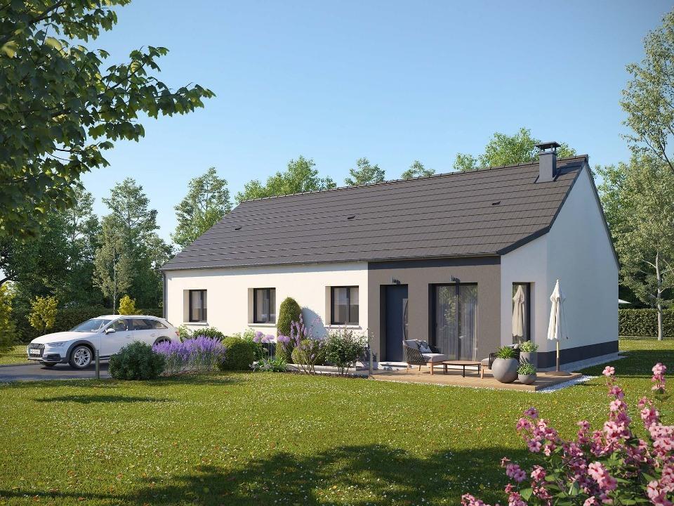 Maisons + Terrains du constructeur MAISONS EXTRACO - Agence des ANDELYS • 95 m² • ETREPAGNY
