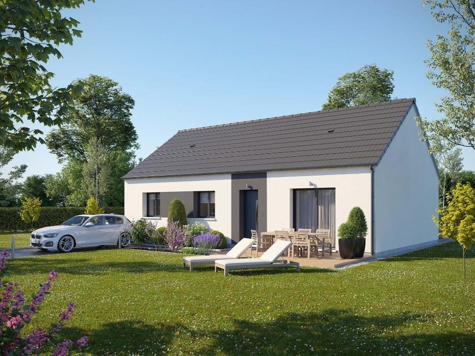 Maisons + Terrains du constructeur MAISONS EXTRACO - Agence des ANDELYS • 80 m² • HACQUEVILLE