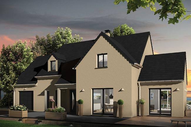 Maisons + Terrains du constructeur MAISONS EXTRACO - Agence des ANDELYS • 162 m² • GAMACHES EN VEXIN