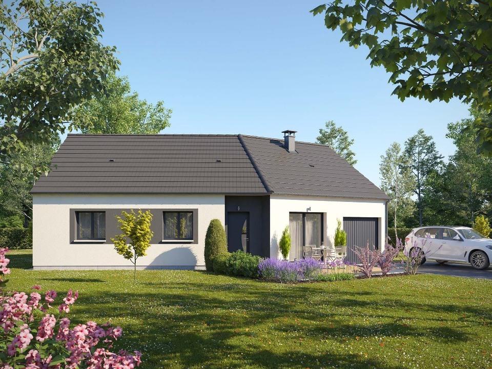 Maisons + Terrains du constructeur MAISONS EXTRACO - Agence des ANDELYS • 85 m² • GAILLON