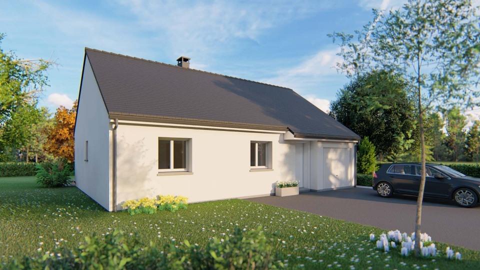 Maisons + Terrains du constructeur MAISONS EXTRACO - Agence des ANDELYS • 74 m² • BEZU SAINT ELOI