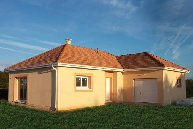 Maisons + Terrains du constructeur MAISONS EXTRACO - Agence des ANDELYS • 93 m² • FORET LA FOLIE