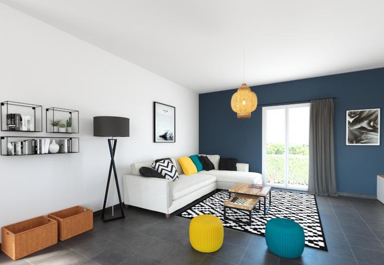 Maisons + Terrains du constructeur ALPHA CONSTRUCTIONS BLAYE • 100 m² • SAMONAC