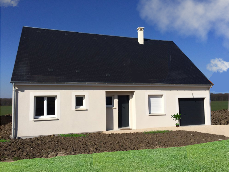 Maisons + Terrains du constructeur MAISONS AXCESS • 80 m² • MARIGNY