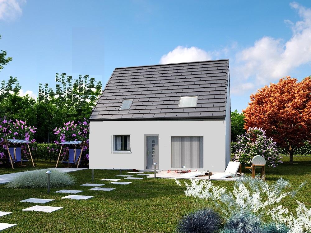 Maisons + Terrains du constructeur MAISONS AXCESS • 85 m² • SAINT LO