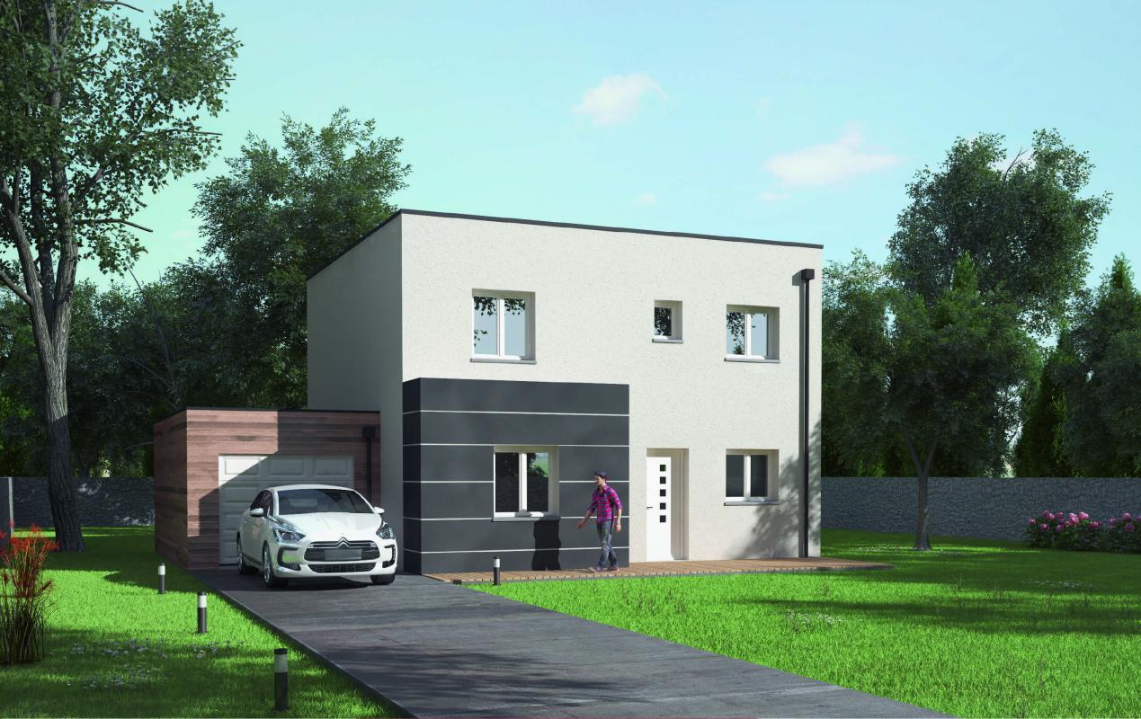 Maisons + Terrains du constructeur MAISONS AXCESS • 96 m² • LA MEAUFFE