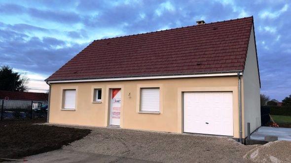 Maisons + Terrains du constructeur MAISONS AXCESS • 80 m² • SARTILLY