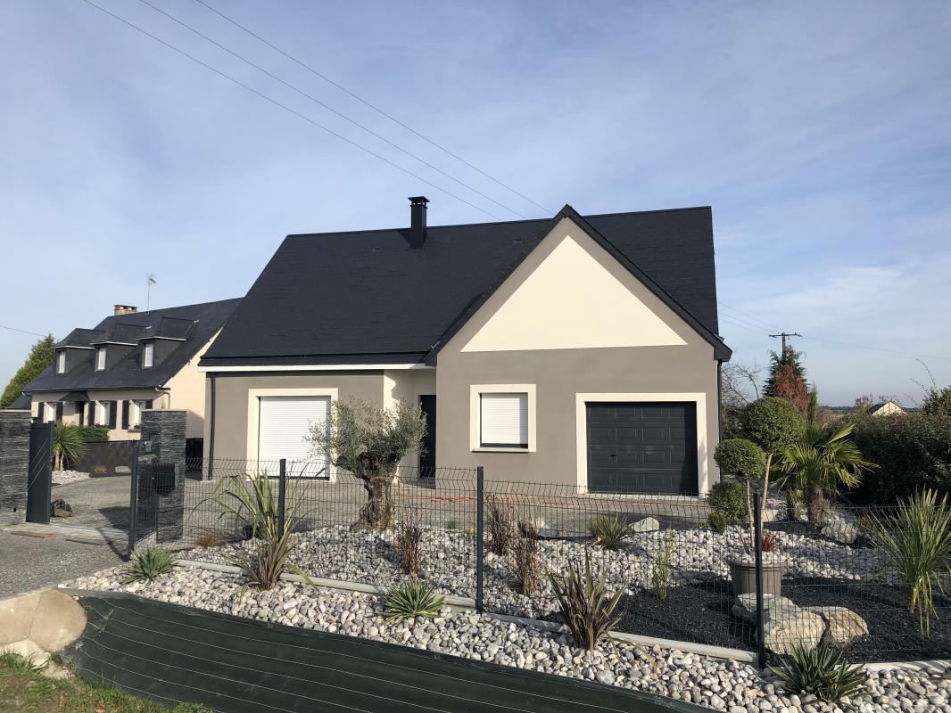 Maisons + Terrains du constructeur MAISONS AXCESS • 87 m² • SAINTE SUZANNE SUR VIRE