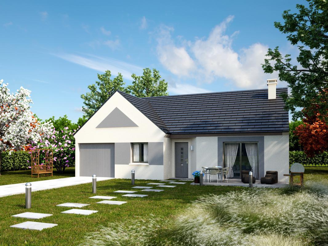 Maisons + Terrains du constructeur MAISONS AXCESS • 87 m² • SAINT PLANCHERS