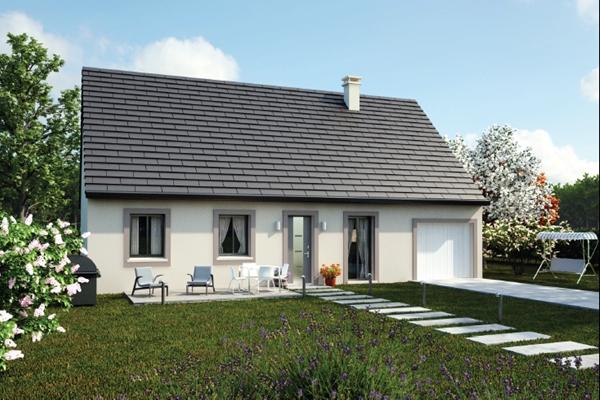 Maisons + Terrains du constructeur MAISONS AXCESS • 70 m² • GOUVILLE SUR MER