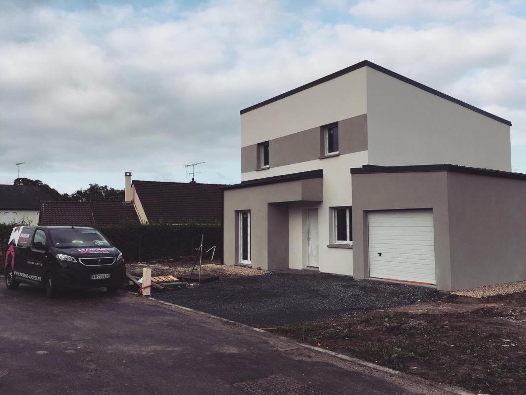 Maisons + Terrains du constructeur MAISONS AXCESS • 122 m² • GOUVILLE SUR MER