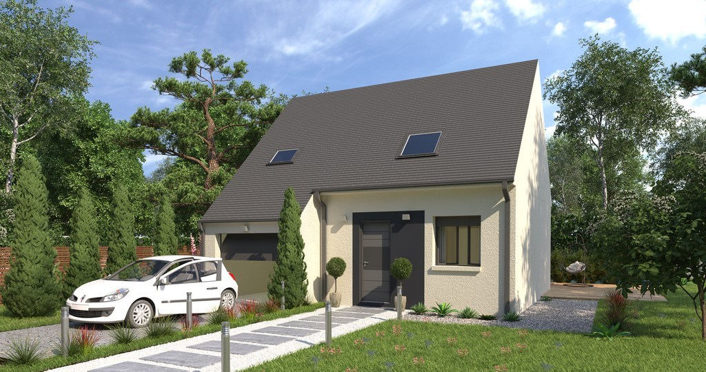 Maisons + Terrains du constructeur MAISONS VIVALIA • 84 m² • CHANTELOUP