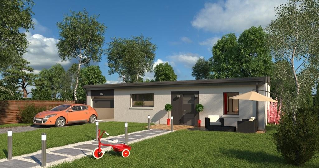 Maisons + Terrains du constructeur MAISONS VIVALIA • 68 m² • GRAND FOUGERAY