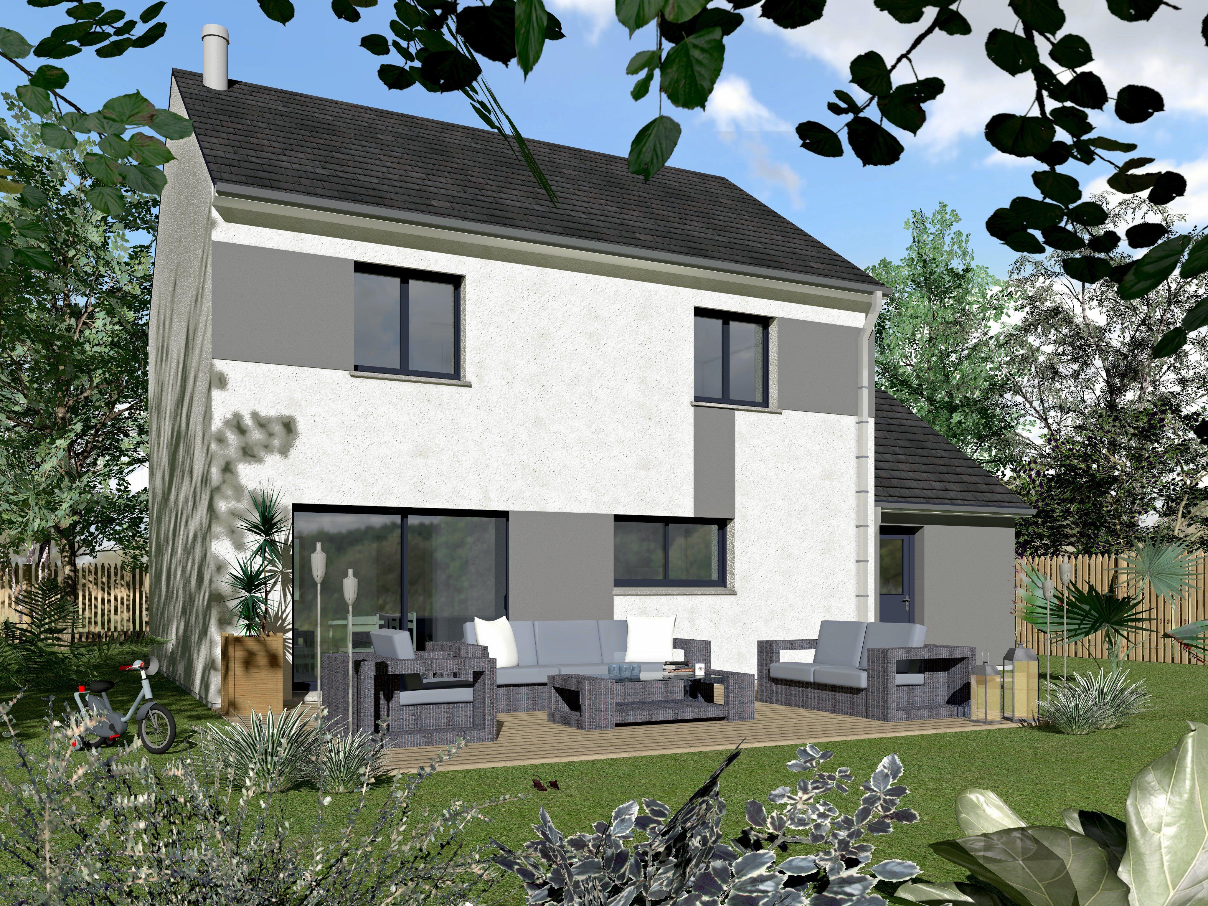 Maisons + Terrains du constructeur MAISONS VIVALIA • 105 m² • GRAND FOUGERAY
