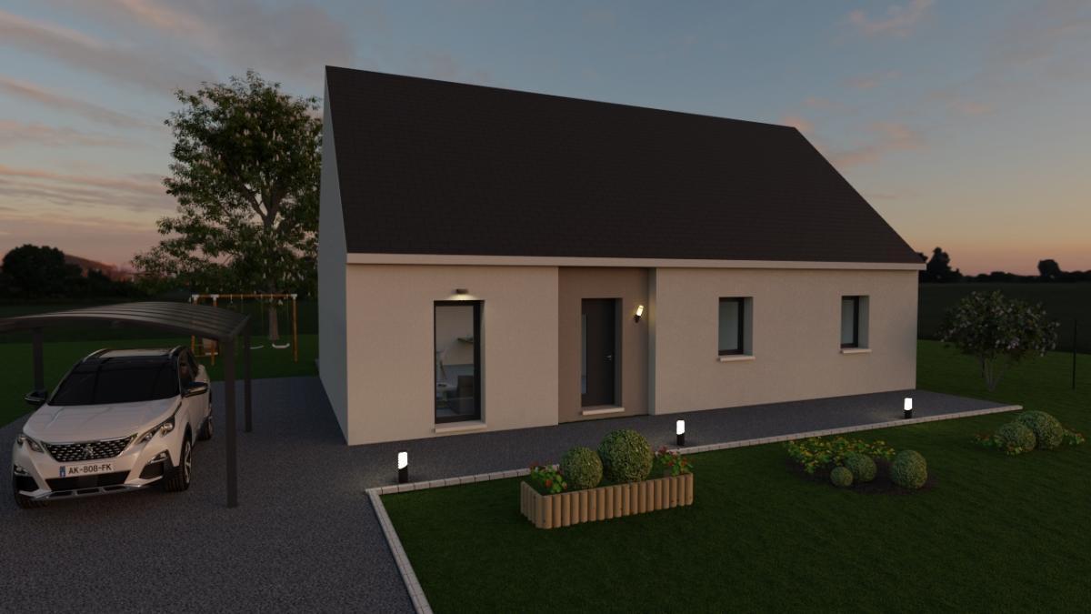 Maisons du constructeur MAISONS VESTALE 02 • 80 m² • VERSIGNY