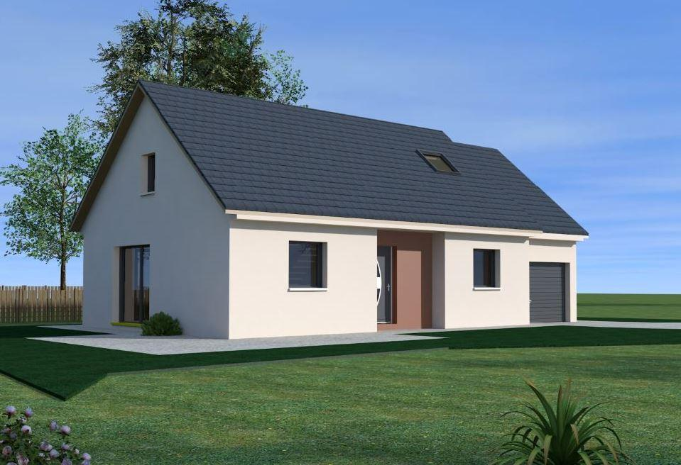 Maisons du constructeur MAISONS VESTALE 02 • 90 m² • MORCOURT