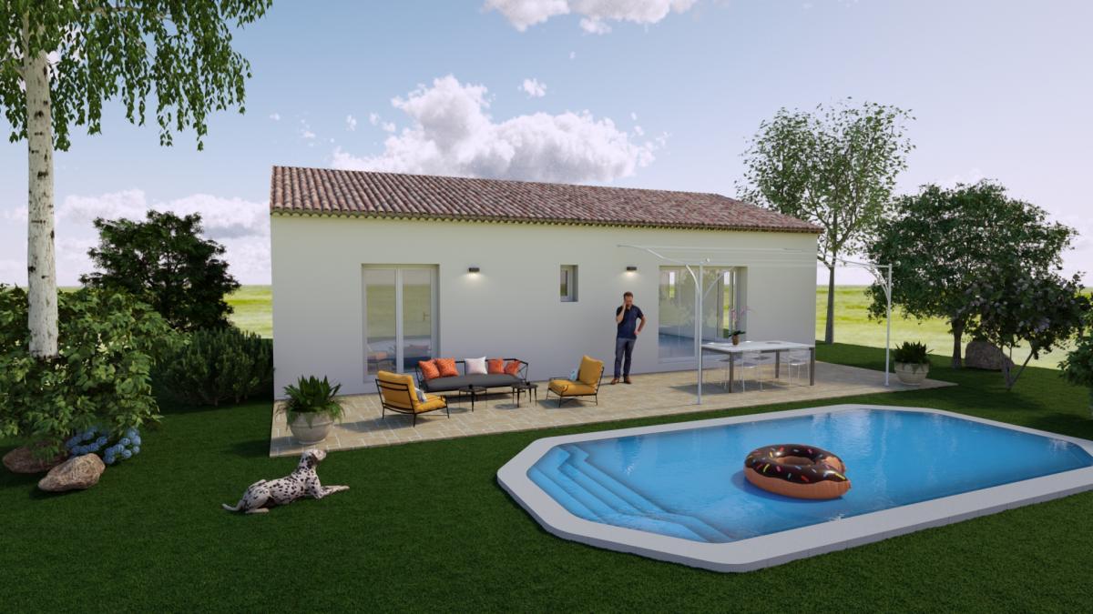 Maisons du constructeur ESQUISS 13 • 82 m² • SALERNES