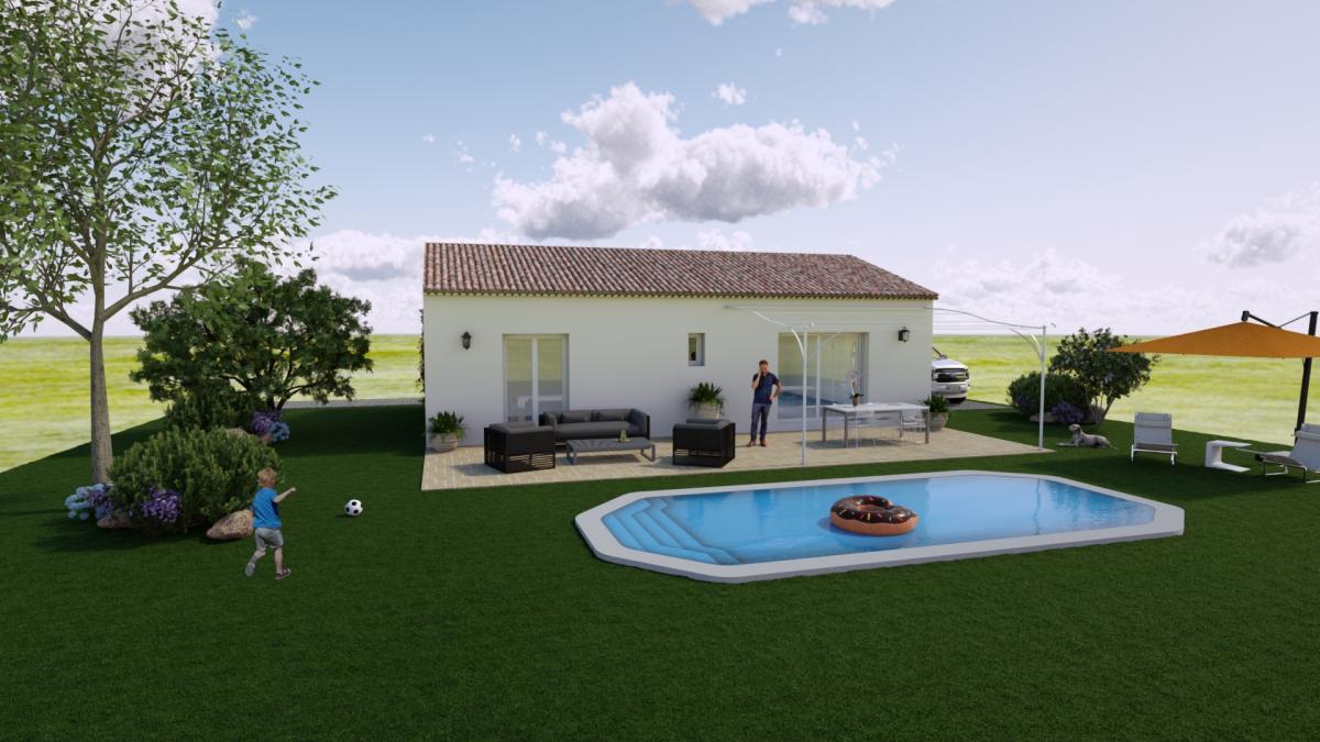 Maisons du constructeur ESQUISS 13 • 83 m² • MONTFORT SUR ARGENS